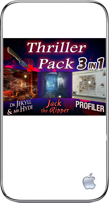 Thriller Pack 3 in 1 (iPhone)