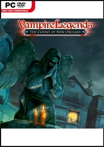 Vampire Legends 3 - Der Graf von New Orleans Lösung, Saves, Review, Demo, Trailer, Sample, Screenshots, Patch, News, Preview, Interview, etc.