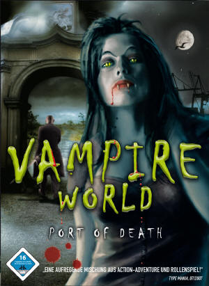 Vampire World - Port of Death Lösung, Saves, Review, Demo, Trailer, Sample, Screenshots, Patch, News, Preview, Interview, etc.
