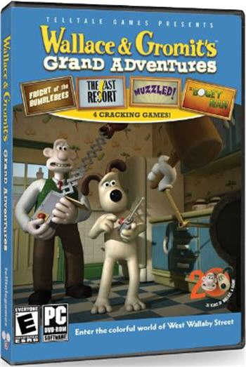 Wallace & Gromit's Grand Adventures  Lösung, Saves, Review, Demo, Trailer, Sample, Screenshots, Patch, News, Preview, Interview, etc.