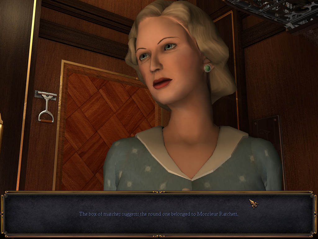 Agatha Christie 2 - Mord im Orientexpress Screenshots eCards L�sung Review Saves Forum News Demo