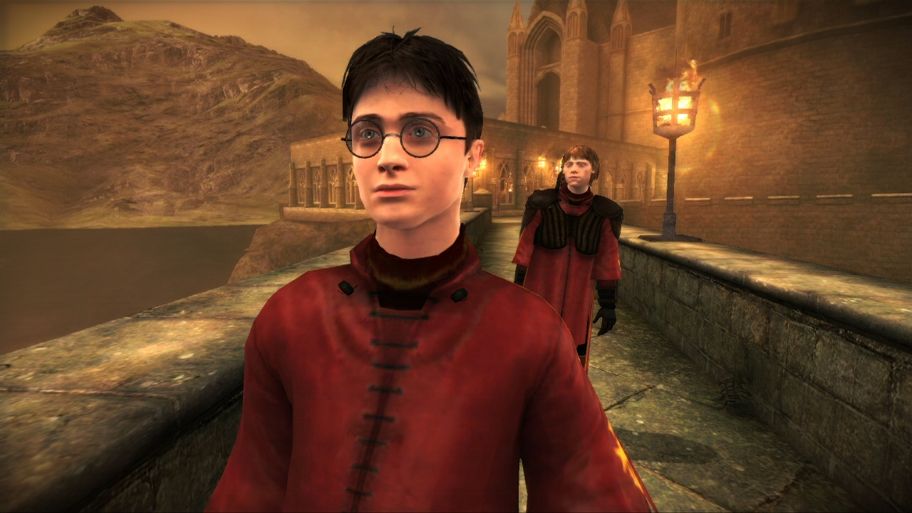 Harry Potter 6 - Der Halbblutprinz Screenshots eCards Lösung Review Saves Forum News Demo