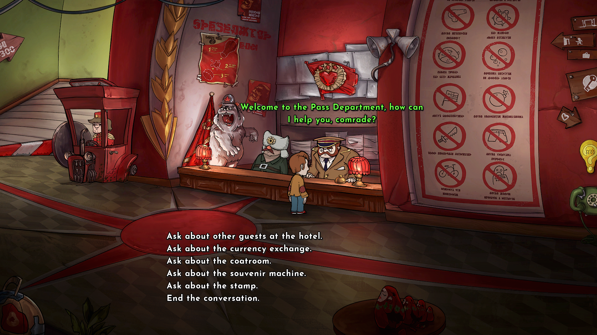 Irony Curtain - From Matryoshka with Love Screenshots eCards Lösung Review Saves Forum News Demo