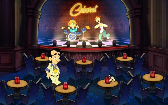 Leisure Suit Larry 8 - Reloaded Screenshots eCards Lösung Review Saves Forum News Demo