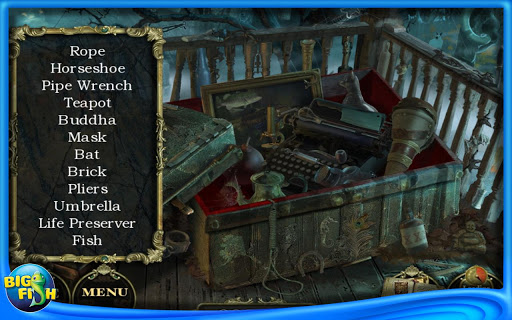 Mystery Case Files 5 - Rückkehr nach Ravenhearst (Android) Screenshots eCards Lösung Review Saves Forum News Demo