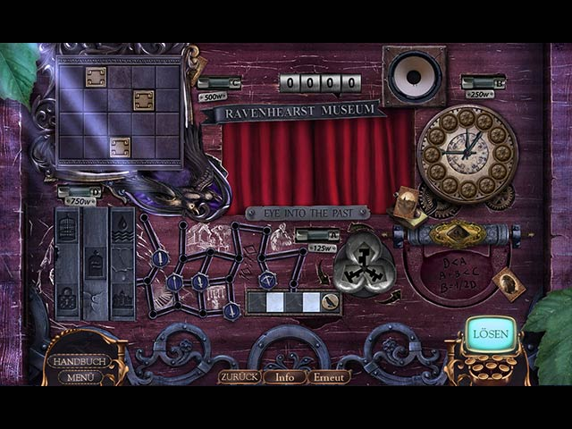 Mystery Case Files 13 - Ravenhearst Erwacht Screenshots eCards Lösung Review Saves Forum News Demo