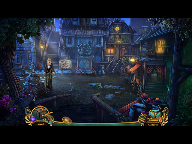 Queen's Quest 5 - Symphonie des Todes Screenshots eCards Lösung Review Saves Forum News Demo