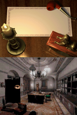 Sherlock Holmes 1 - Das Geheimnis der Mumie (Nintendo DS) Screenshots eCards Lösung Review Saves Forum News Demo