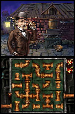 Sherlock Holmes - Das Geheimnis der Königin (Nintendo DS) Screenshots eCards Lösung Review Saves Forum News Demo