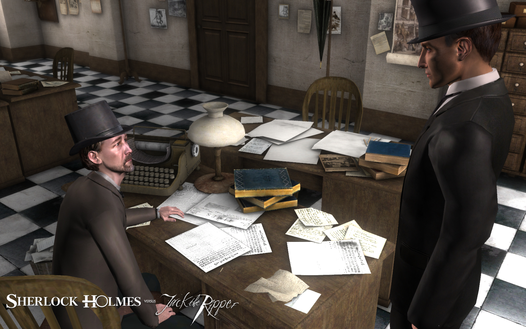 Sherlock Holmes 5 - Sherlock Holmes versus Jack the Ripper Screenshots eCards Lösung Review Saves Forum News Demo