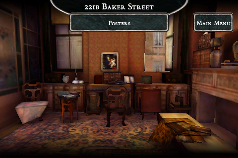 Sherlock Holmes Mysteries (iPhone & iPod touch) Screenshots eCards Lösung Review Saves Forum News Demo