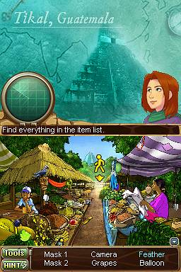 Samantha Swift 1 - And the Hidden Roses of Athena (Nintendo DS) Screenshots eCards Lösung Review Saves Forum News Demo