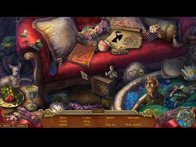 Spirits of Mystery 11 - The Lost Queen Screenshots eCards Lösung Review Saves Forum News Demo