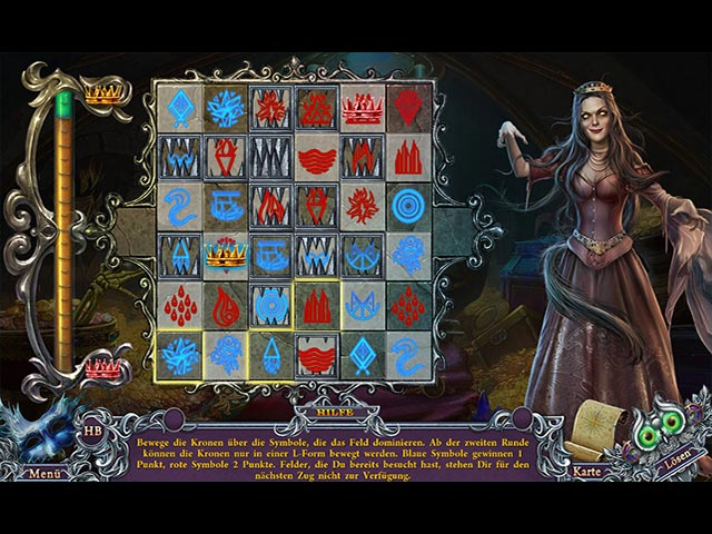 Spirits of Mystery 09 - Blutmond Screenshots eCards Lösung Review Saves Forum News Demo