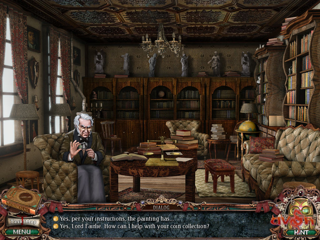 Victorian Mysteries - Woman in White Screenshots eCards Lösung Review Saves Forum News Demo